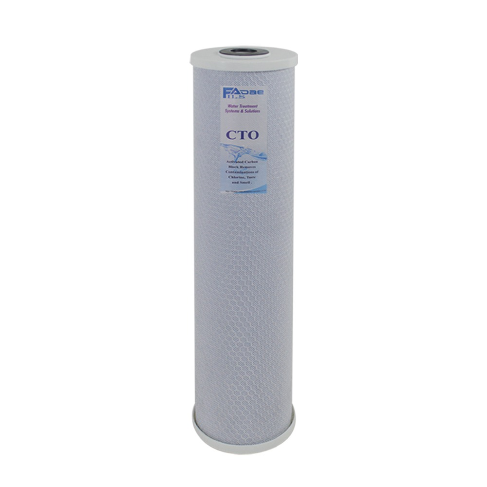 High Capacity 4.5 x 20 Big Blue Whole House Replacement Filters CTO Carbon Block- 5 MicronHigh Capacity 4.5 x 20 Big Blue Whole House Replacement Filters CTO Carbon Block- 5 Micron