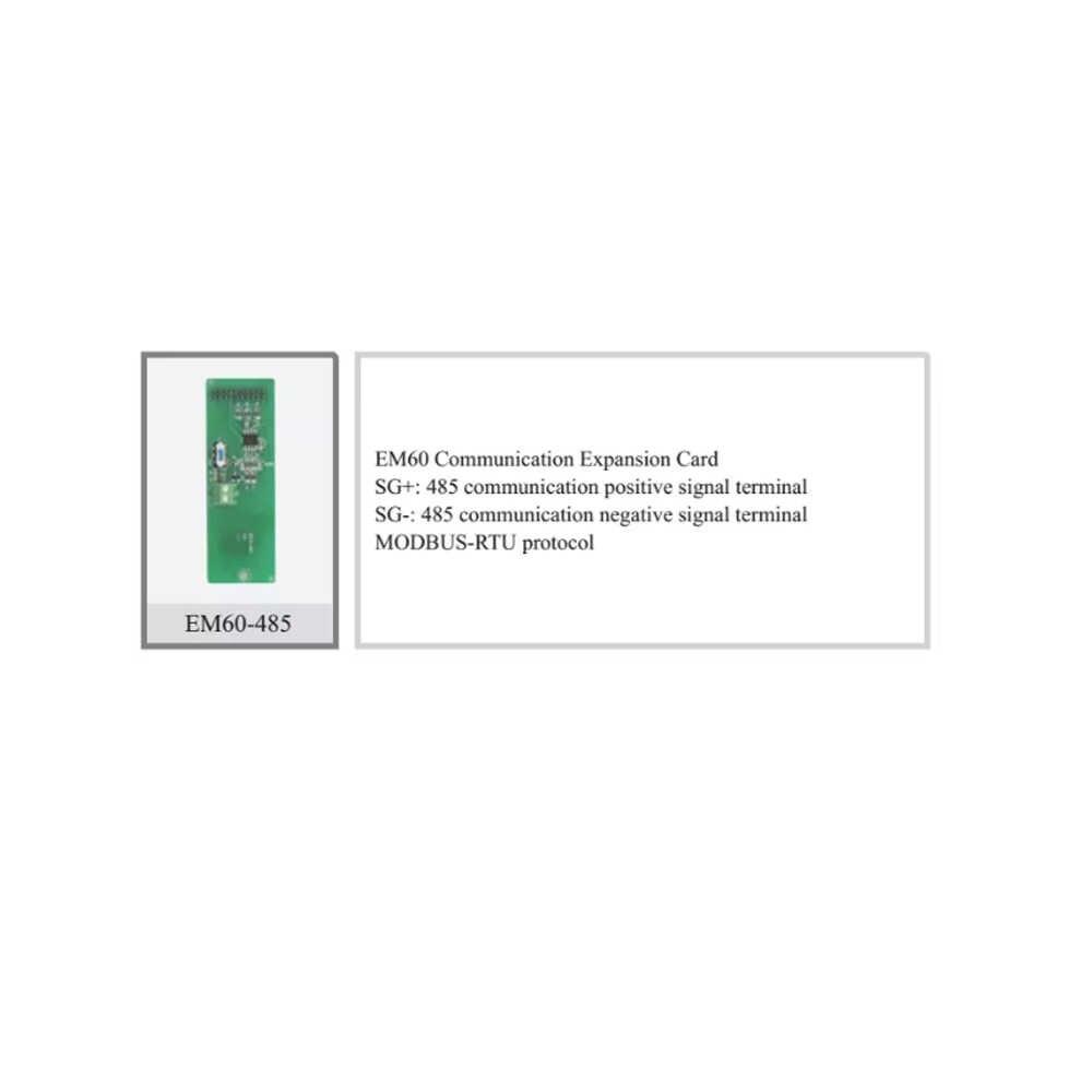 ديليكسي محول تردد ملحقات أجزاء/EM60-485 بطاقة توسيع الاتصالات/بطاقة التوسع EM60-IO