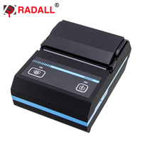 Portable Mini 58mm Bluetooth Thermal Receipt Printer 58 Printer Support IOS Android Windows For Store