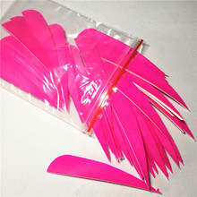 200Pcs/Lot 4 inch Pellet Water Drop Turkeys Feathers P Arrow Outdoor Shooting Game Accessories Vanes