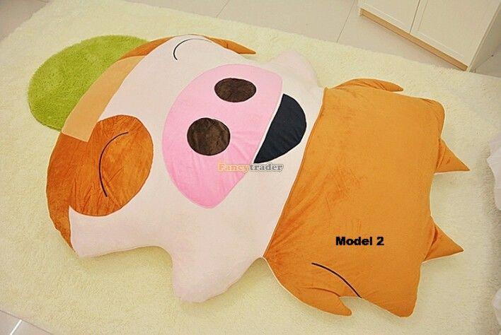 Fancytrader Cute Pig Toy 225cm X 165cm Huge Giant Mcdull Bed Carpet Sofa Tatami 2 Models! FT90353