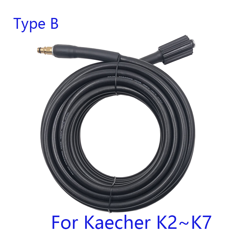 Image 3 - 6 8 10 15 meters High Pressure Washer Hose Car Washer Water Cleaning Extension Hose for Karcher K2 K3 K4 K5 K6 K7-in Water Gun & Snow Foam Lance from Automobiles & Motorcycles