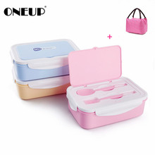ONEUP font b Lunch b font Box Eco Friendly Portable Food Container With font b Bags