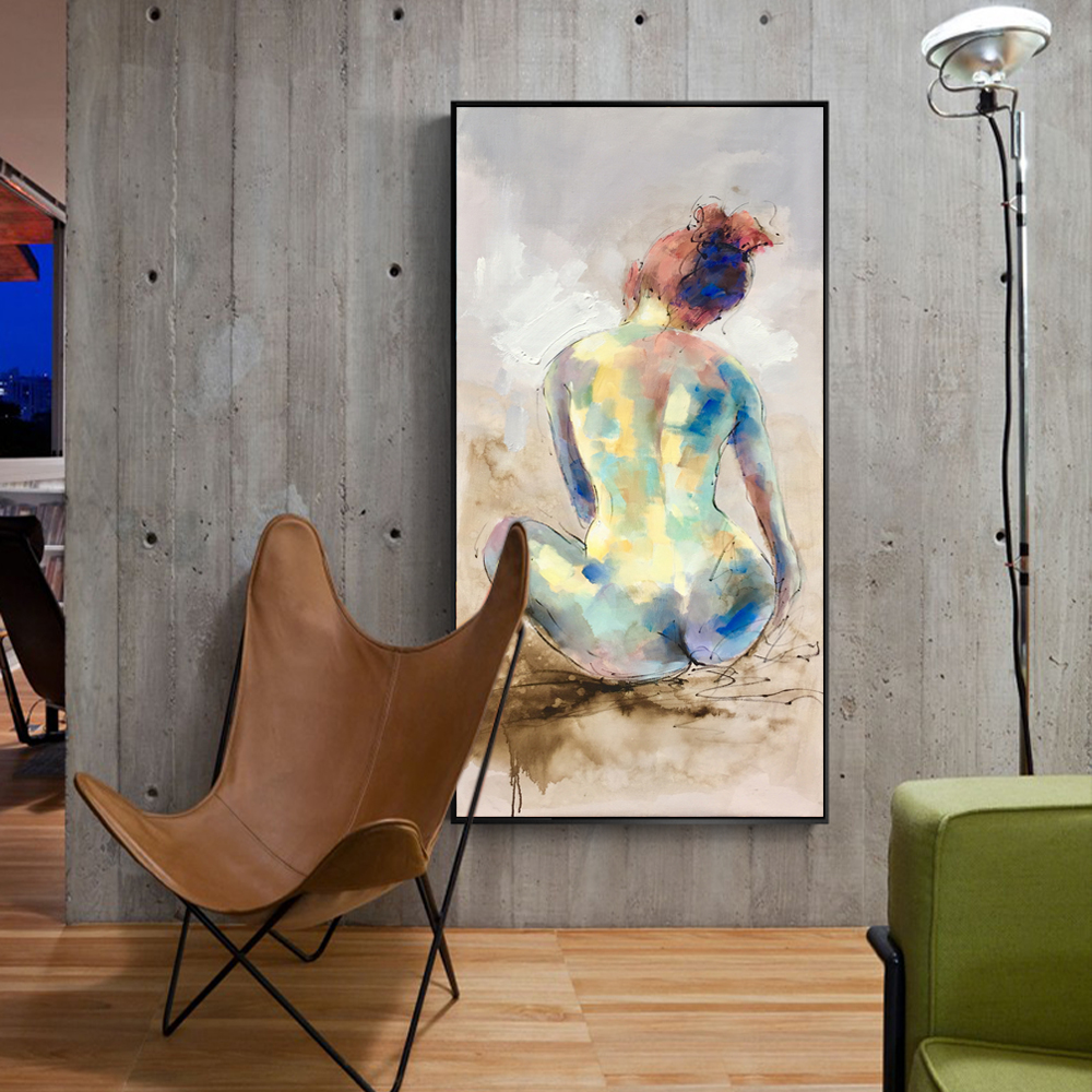 Teen posters art prints naked