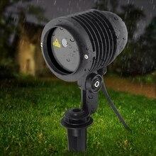Su geçirmez IP67 Lazer projektör RGB 20 büyük desenleri açık Lazer ışığı bahçe noel manzara noel ağacı gösterisi Lazer aydınlatma