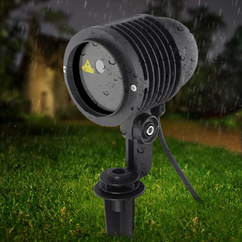 Waterproof IP67 Laser Projector RGB 20 Big Patterns Outdoor Laser Light Garden Christmas Landscape Xmas Tree Show Lazer Lighting