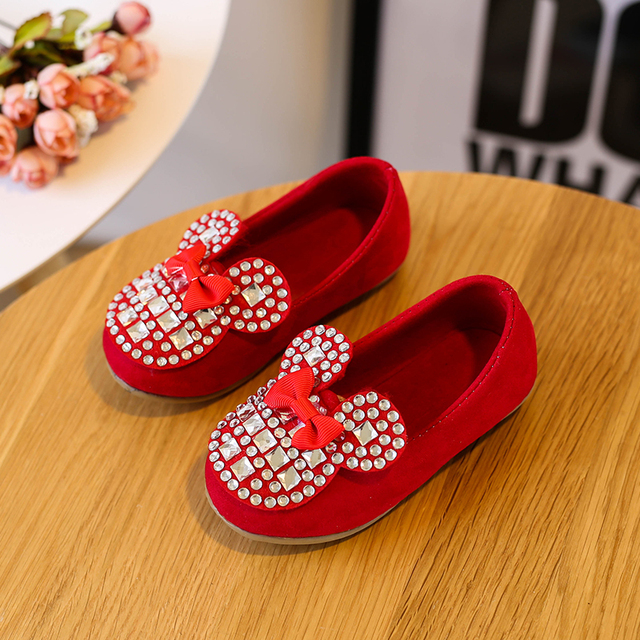 Candy Color Kids Shoes Girls Princess Shoes Fashion Designer Children  Single Shoes Summer Bowknot Girls Sandals Size 21-30 57219d80e3fe