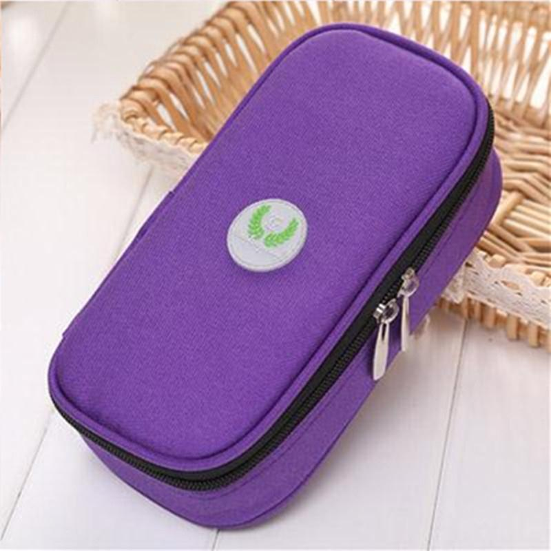 Portable Diabetic Insulin Ice Pack Cooler Bags Protector Bag Injector