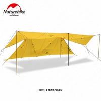 Naturehike Открытый Отдых Твин Пикс солнечные укрытия большой шатер непромокаемые тент навес от Солнца Ветрозащитный большое пространство тент
