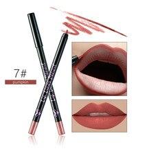 Huamianli 12 Warna Profesional Lipliner Makeup Tahan Air Lip Liner Pensil Dropship Jan26
