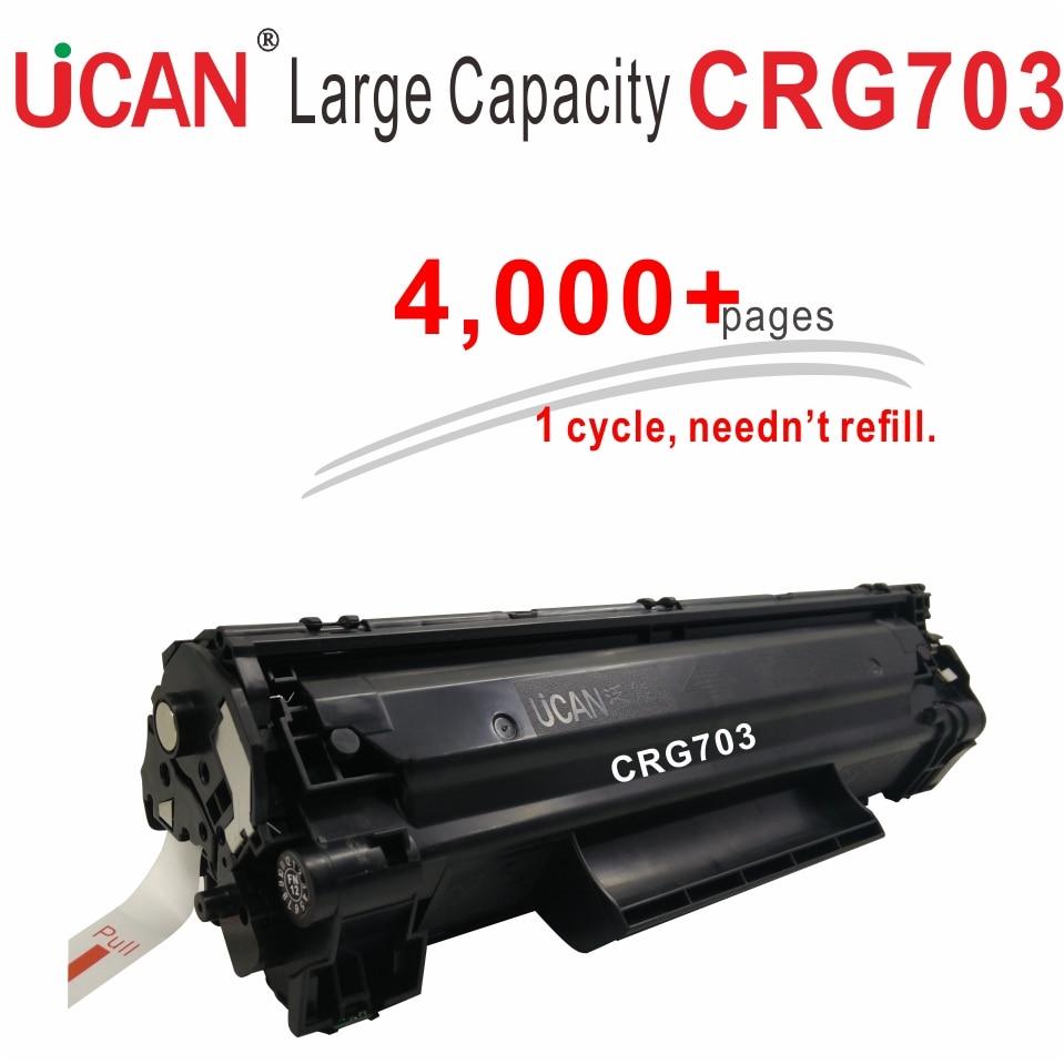4000 sidor Inga spillpulver tonerkassetter för Canon 703 303 103 LBP - Kontorselektronik