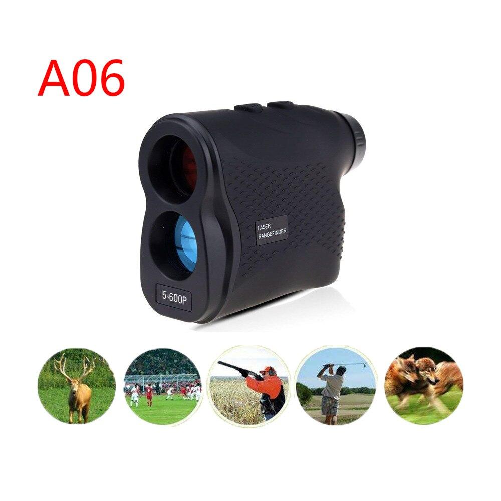 A06 télémètre Laser télémètre Laser télémètre numérique 6X600 m chasse Golf Laser télémètre ruban à mesurer chasse