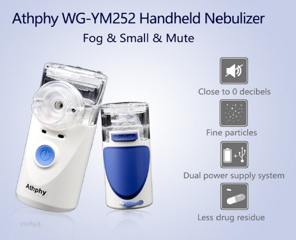 Athphy Ultrasonic Nebulizer Inhaler Handheld Portable 2
