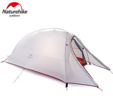Naturehike Tent 20D Silicone Fabric Ultralight 2 Person Double Layers Aluminum Rod Camping 4 Season With Mat