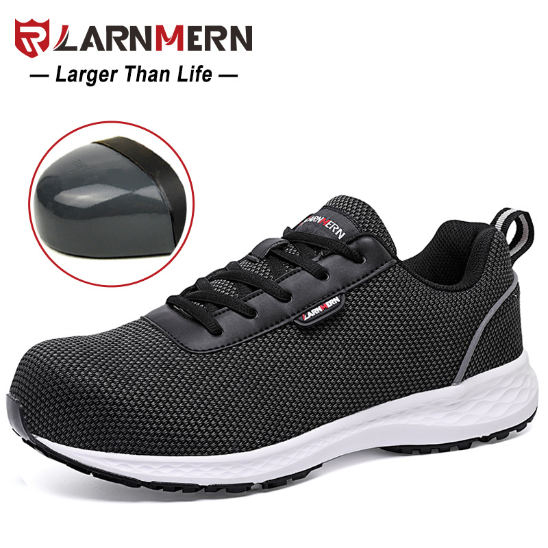 1bb7feac7 LARNMERN Size 36-41 Ladies Safety Shoes Women Steel Toe Lightweight Work  Safety Shoes For Women Construction Protective Sneaker