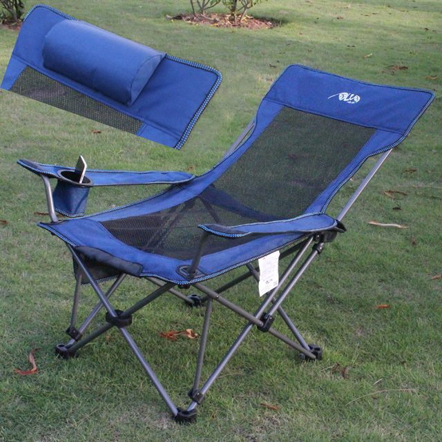 Astounding Us 188 65 Outdoor Dual Folding Camping Chairs Siesta Fishing Chaise Driving Beach Chair Backrest In Sun Loungers From Furniture On Aliexpress Com Theyellowbook Wood Chair Design Ideas Theyellowbookinfo