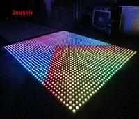 Бесплатная доставка 10pcslot 88 свадебное оформление сцены Стекло интерактивной цифровой Панель светодио дный RGB Цвет Пиксела танцпол CD50 T05