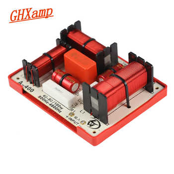 GHXAMP 180W Tweeter MID Dual Bass 4 Way Crossover Audio Board 2 Bass Crossover 800HZ 4800HZ 4-8OHM Speaker Divider 2PCS