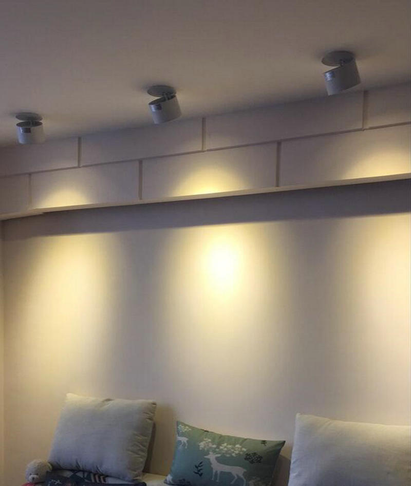 V LEVOU Para Baixo Luz de Teto Recessed Spot luz