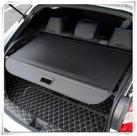 For Toyota C HR CHR 2016 2017 2018 Black Rear Cargo Cover Trunk Shield Security Parcel Shelf Shade Car Styling