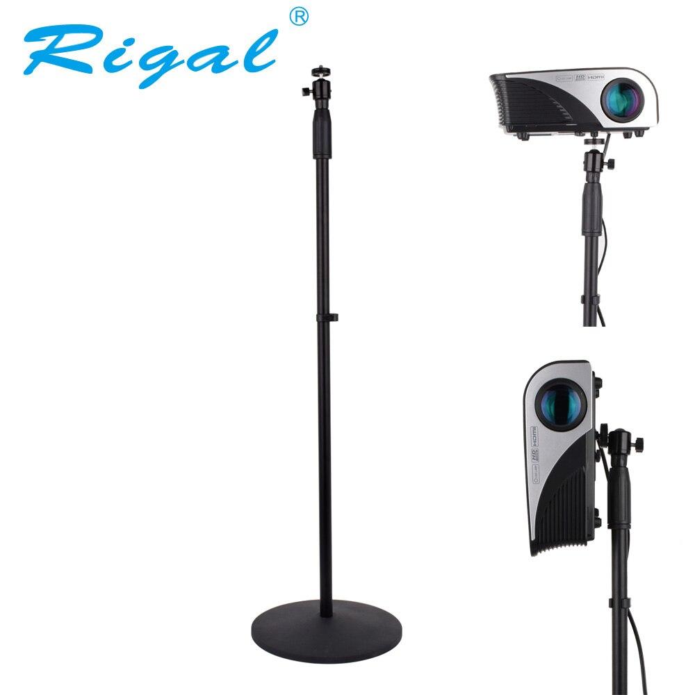 Rigal Universal Projektor Boden Stehen 77-165 cm Einstellbar Projektor Halterung für XGIMI JMGO YG500 C80 DLP Projektor Hause theater