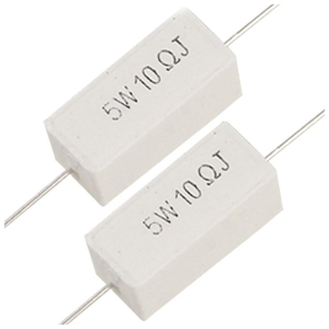 0.39 Ohm 2 Watt Power Axial Leads Carbon Film Resistors 30 Pcs