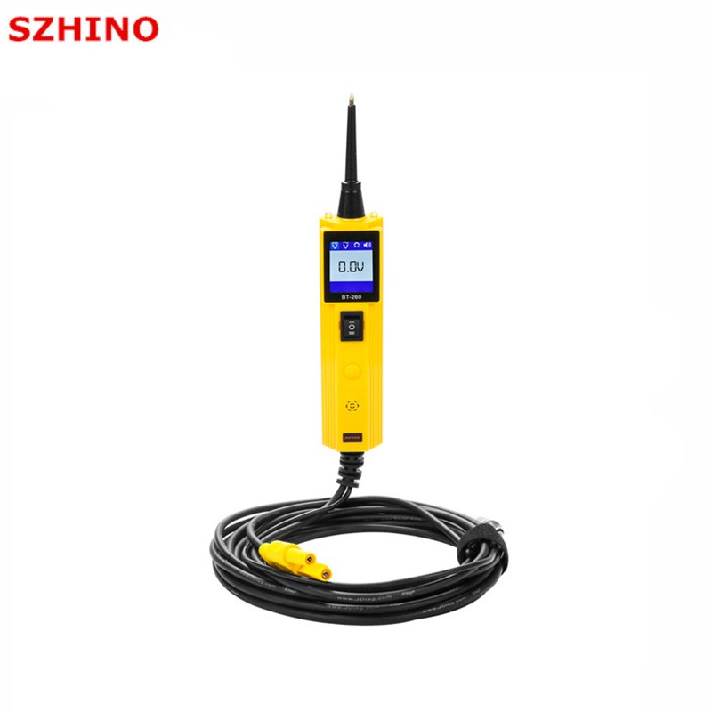 AUTOOL BT260 Car Circuit Tester Electrical System Diagnostic Tool Power Probe Voltage Test better than YD208 PT150 стоимость
