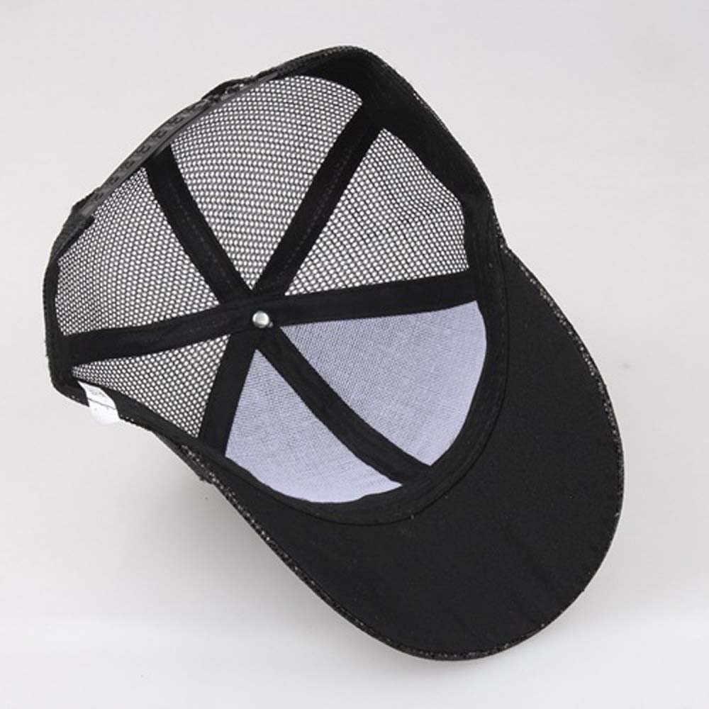 2019 หมวก gorras de animales สำหรับผู้หญิงสาวผมหางม้าเบสบอลหมวก Sequins Messy Bun Snapback หางม้าเบสบอลหมวกหมวก