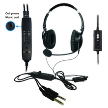 NEW ANR aviation headset AH 6000 The lightest ANR pilot headset in the world with great active noise cancelling
