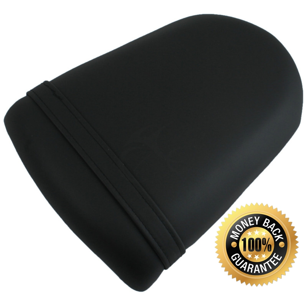 For SUZUKI GSXR1000 2003-2004 03 04 K3 Motorcycle Synthetic Leather Passenger Rear Back Seat Cover Cushion Pillion