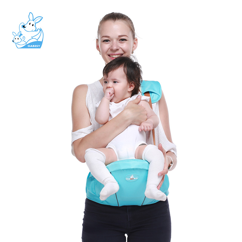 0-36 months Baby Sling Baby Single Stool Ergonomic Kids Baby Buttocks Seat Breathable Backpack Sachet Packed Baby Sling