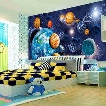 beibehang Cosmic starry sky photo murals 3d wallpaper room Customize any size mural papel de parede photo wallpaper roll