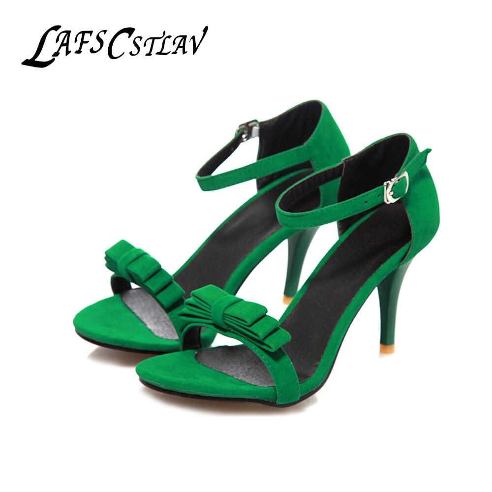 LAFS CSTLAV Basique Confortable Super Haut Talon 8.5 cm Sandales - Chaussures pour femmes