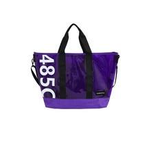 ПВХ Ясный Прозрачный дорожные сумки для женщин конфеты желе пляжные сумки женские летние большие повседневные сумки на плечо Модные