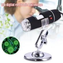 Microscopio Digital LED 1600X 1000X 500X, cámara endoscopio, USB, lupa, estéreo electrónica, lupa de escritorio, gran oferta