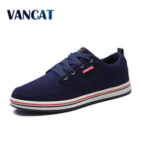 VANCAT 2017 Big Size Men Casual Shoes Fashion Breathable Brand Male Shoes Large Size Men Flats