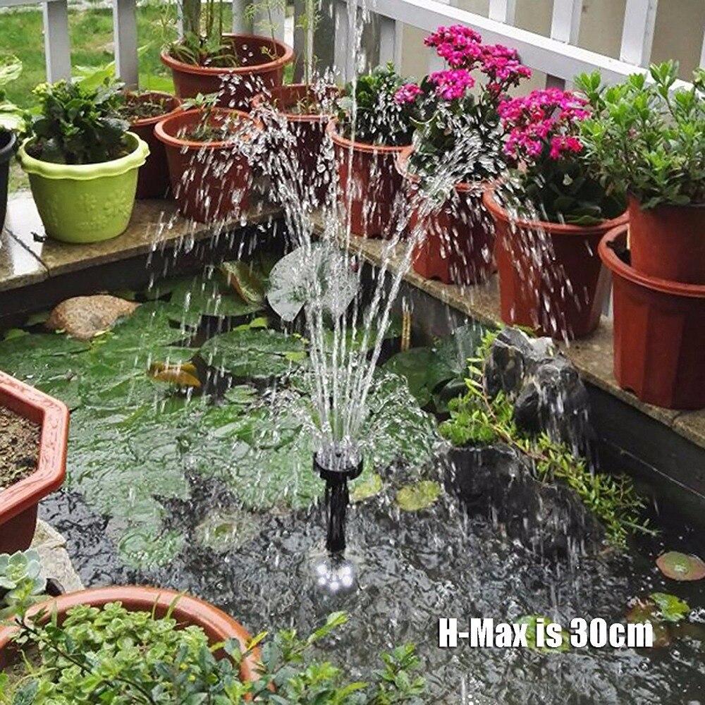10 Вт 160GPH погружной насос с 2 воды образцы (Blossom и грибов) открытый аквариум водопад, фонтан для аквариума