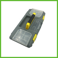40098 Small Double Layer Plastic Multifunction Toolbox Home Kit
