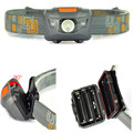 3W LED Flashlight Headlight 300 Lumen Head Torch Light Lamp Mini Headlamp 3LED Lanterna De Cabeca By AAA ,For Camping