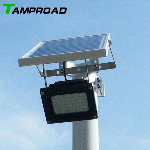 TAMPROAD Wasserdichten Outdoor Solar Flutlicht 54 Led strahler ...