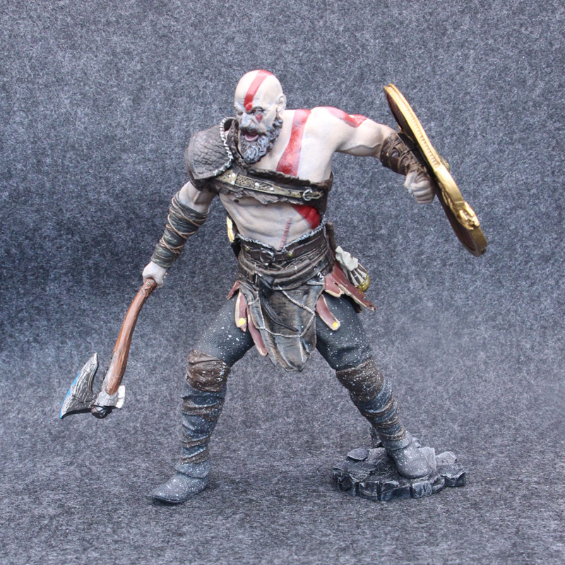 NECA Game God of War 4 Kratos 9 20cm PVC Action Figure Collectible Model Toys for Gift 12 neca toys god of war action figures 2 infamous kratos figure pvc action figure model toy gw005