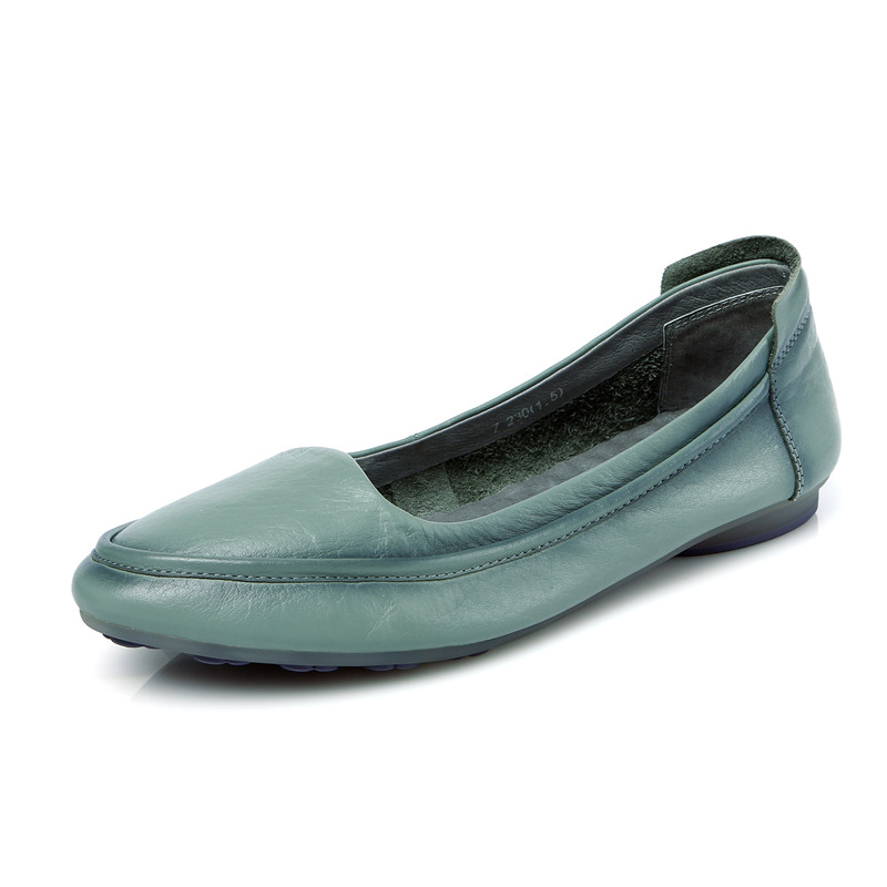 Damens Genuine Leder Flat Schuhes Damens Damens Loafers Top Quality Moccasins Damens Damens Flat1 9cadcb
