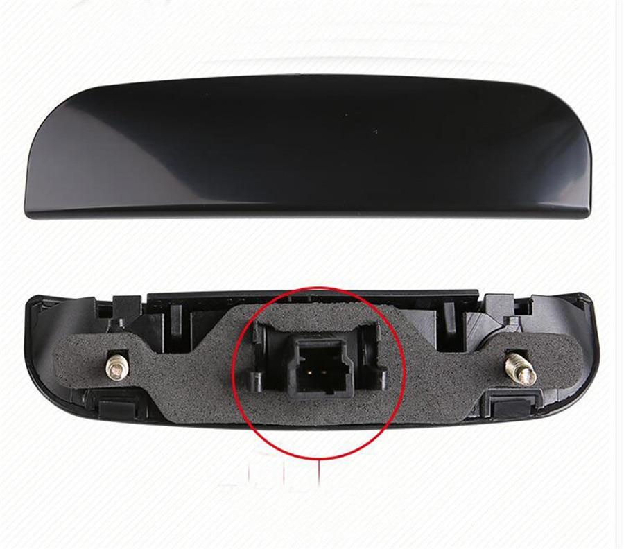 Constructief Kofferbak Deur Grab Handvat Contact Schakelaar Voor Peugeot 307 206 408 Citroen Triomf C-quatre C2 2008-2013