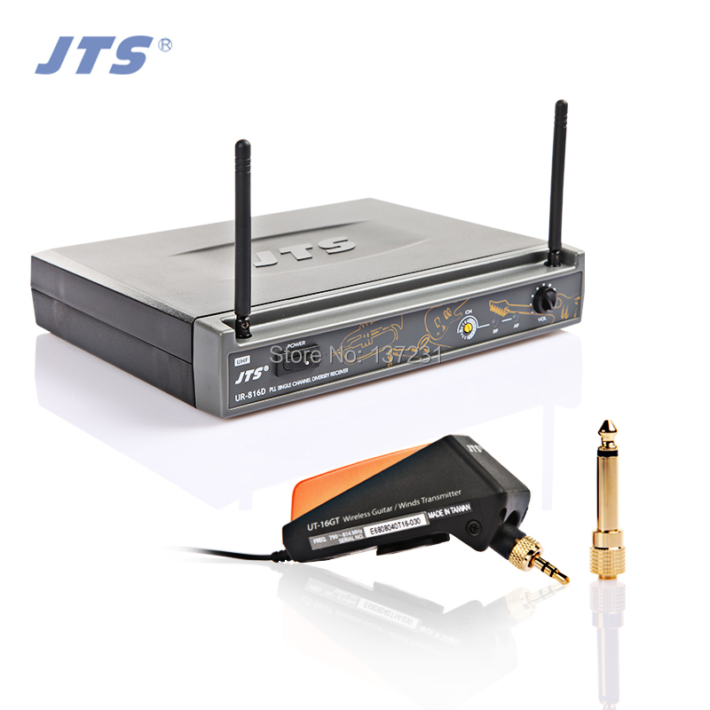 Hot Jts ur-816d ut-16gt 508gt guitar tube wireless instrument microphone guitar Band accordion wireless microphone pickup hdmi extender rj45