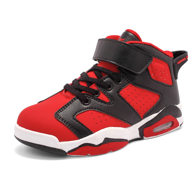 2016 Kids Sneakers Nonslip PU Boys Girls Running Shoes Children Sport Shoes