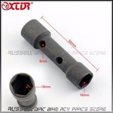 16 мм 18 мм spark гаечный Ключ глубокий удаления инструмент мотоцикл мопедов Грязь велосипед ямы ATV
