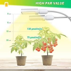 Image 5 - Phytolamp 50W Led לגדול אור ספקטרום מלא מנורת עבור בעציץ ירקות פרח 88 נוריות Dimmable צמחים מנורות