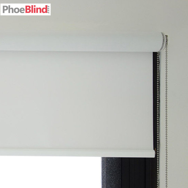 Room Darkening 100 Blackout Roller Blinds Shades In