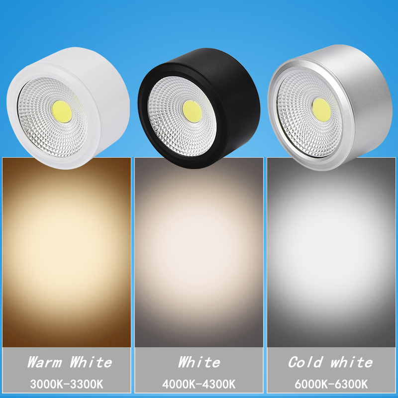 Downlights neutro Body Color : Black/silver /white