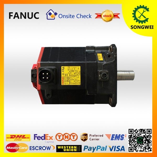 Disciplined Fanuc Used Cnc Parts Alpha If Ac Servo Motor 12/3000 A06b-0243-b401 To Invigorate Health Effectively Motors & Parts